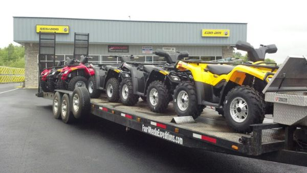 Four Wheelin' Expeditions ATV Rentals and Guided Tours
