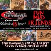 High Lifter Mud Nationals March 22-26- Jacksonville, Texas