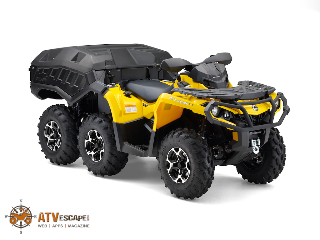 2014 Can-Am Outlander 6x6 1000