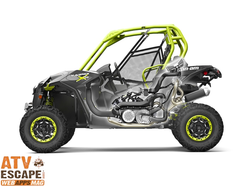 2015 Maverick X DS- 121 HP