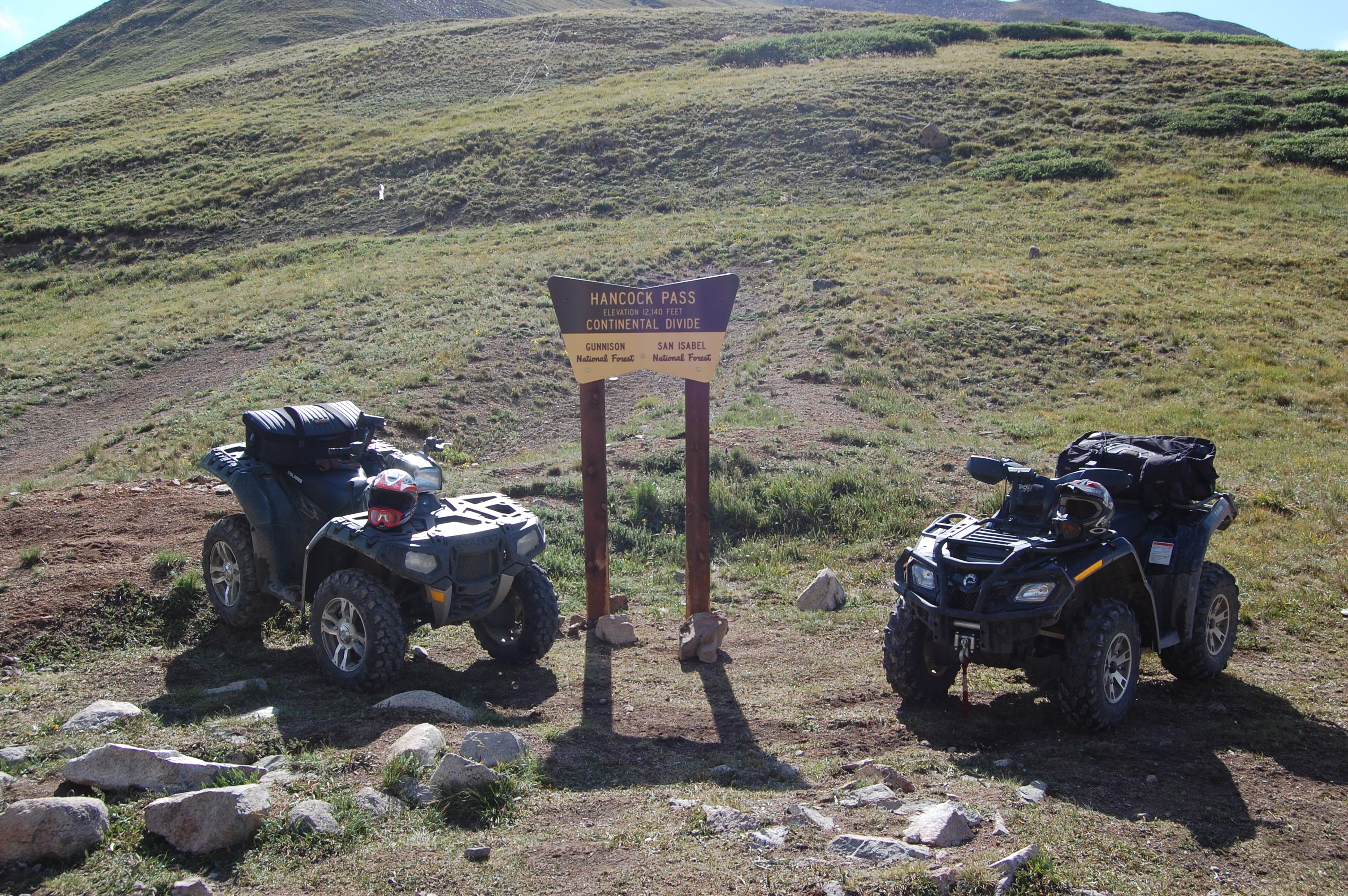 Our Rides on Hancock Pass